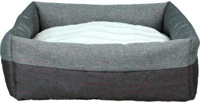 Лежанка для животных Trixie Milan 37701 (темно-серый/светло-серый) - общий вид