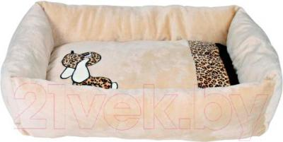Лежанка для животных Trixie Pepito 37913 (бежевый) - общий вид