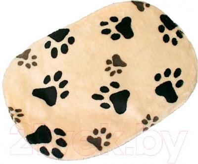 Лежанка для животных Trixie Joey 38921 (бежевый с лапами) - общий вид