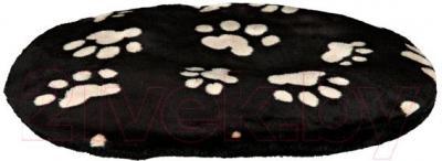Лежанка для животных Trixie Joey 38933 (черный с лапами) - общий вид
