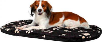 Лежанка для животных Trixie Joey 38934 (черный с лапами) - общий вид