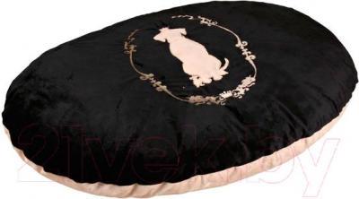 Лежанка для животных Trixie King of Dogs 37966 (Black-Beige) - общий вид
