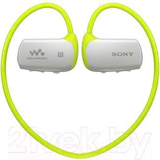 Наушники-плеер Sony NWZ-WS615G - общий вид