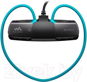 Наушники-плеер Sony NWZ-WS615L - общий вид