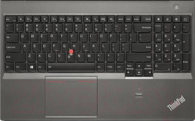 Ноутбук Lenovo ThinkPad T540p (20BE0005RT) - клавиатура