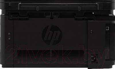 МФУ HP LaserJet Pro M125a MFP (CZ172A) - вид сзади