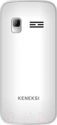 Мобильный телефон Keneksi T1 (белый) - вид сзади