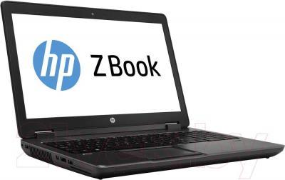 Ноутбук HP ZBook 15 Mobile Workstation (F0U63EA) - вполоборота