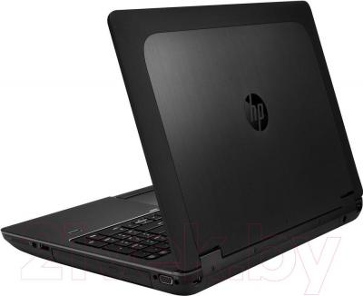 Ноутбук HP ZBook 15 Mobile Workstation (F0U63EA) - вид сзади