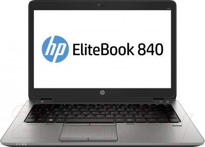 Ноутбук HP EliteBook 840 (F1Q49EA) - фронтальный вид