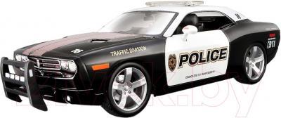 Масштабная модель автомобиля Maisto Додж Челенджер полиция (31365) - общий вид