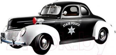 Масштабная модель автомобиля Maisto Форд Де Люкс полиция (31366) - общий вид
