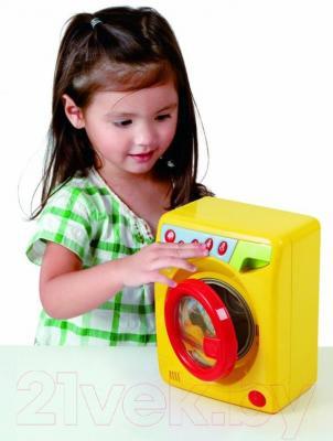Игровой набор PlayGo Детская стиральная машина (3252) - ребенок с игрушкой
