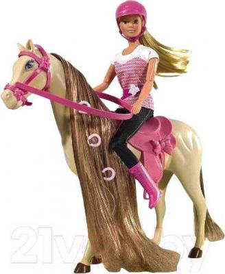 Кукла Simba Штеффи на лошади (10 5730939) - общий вид