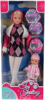 Кукла Simba Штеффи и Эви на коньках (10 5735864) - упаковка