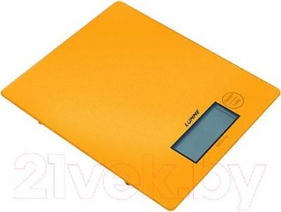 Кухонные весы Lumme LU-1318 (золотой) - общий вид