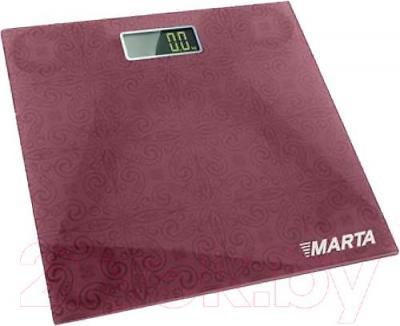 Напольные весы электронные Marta MT-1664 (Purple) - общий вид