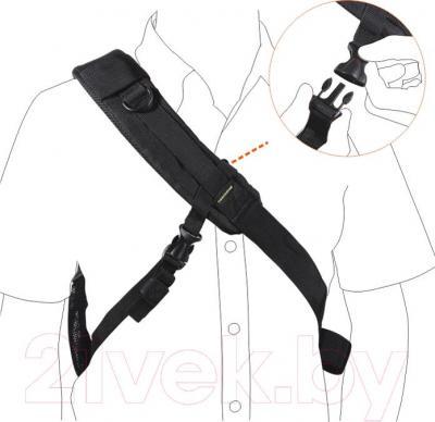 Рюкзак для фотоаппарата Vanguard BIIN 37 (Black) - подвесная система