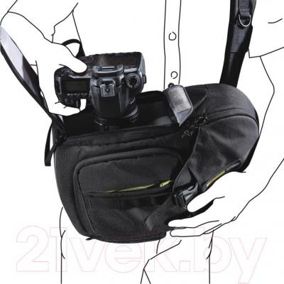 Рюкзак для фотоаппарата Vanguard BIIN 47 (Black) - система быстрого доступа