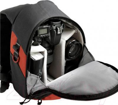 Рюкзак для фотоаппарата Vanguard BIIN 50 (Orange) - внутренний вид