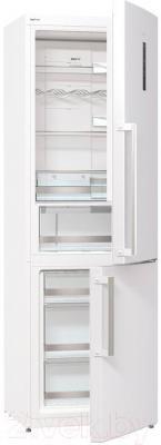 Холодильник с морозильником Gorenje NRK6191TW - общий вид