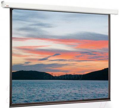 Проекционный экран Classic Solution Lyra 203x203 (E 195х145/3 MW-D8/W) - общий вид