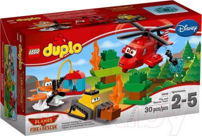 Конструктор Lego Duplo Пожарная спасательная команда (10538) - упаковка