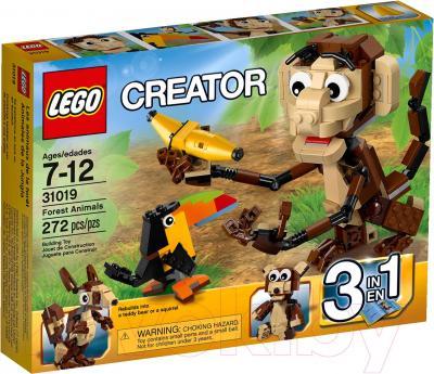 Конструктор Lego Creator Озорные животные (31019) - упаковка