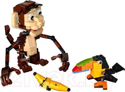 Конструктор Lego Creator Озорные животные (31019) - общий вид