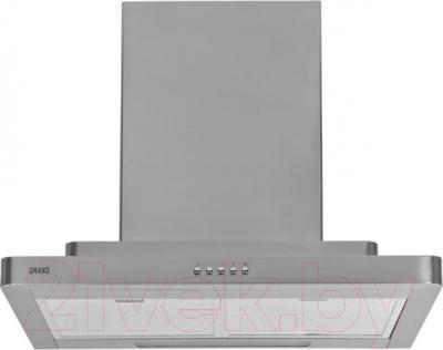 Вытяжка Т-образная Grand Siena (60, нержавеющая сталь) - вид спереди