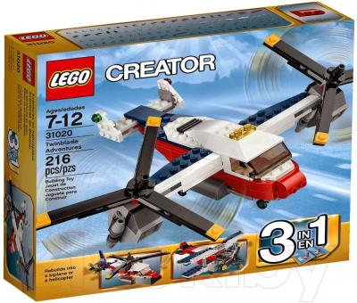 Конструктор Lego Creator Приключения на конвертоплане (31020) - упаковка