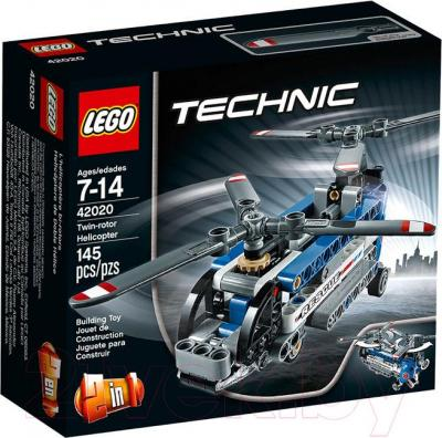 Конструктор Lego Technic Двухроторный вертолёт (42020) - упаковка
