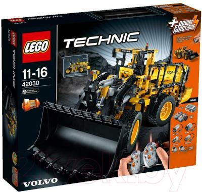 Конструктор Lego Technic Автопогрузчик VOLVO L350F с д/у (42030) - упаковка