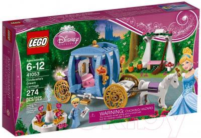 Конструктор Lego Disney Princess Заколдованная карета Золушки (41053) - упаковка