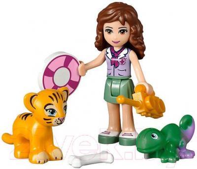 Конструктор Lego Friends Джунгли: Спасение тигрёнка у водопада (41033) - общий вид