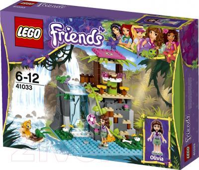 Конструктор Lego Friends Джунгли: Спасение тигрёнка у водопада (41033) - упаковка