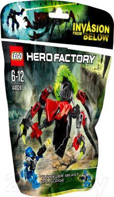 Конструктор Lego Hero Factory Чудовище-Горнопроходчик против Сурж (44024) - упаковка