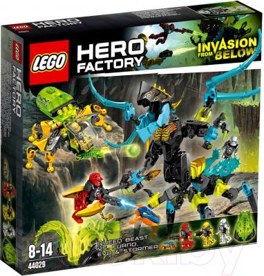 Конструктор Lego Hero Factory Queen Beast vs. Furno, Evo and Stormer (44029) - упаковка