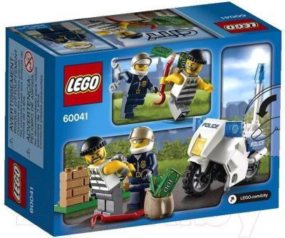 Конструктор Lego City Погоня за воришкой (60041) - упаковка