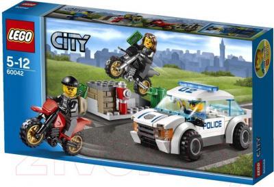 Конструктор Lego City Погоня за воришками-байкерами (60042) - упаковка
