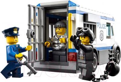 Конструктор Lego City Автомобиль для перевозки заключённых (60043) - общий вид