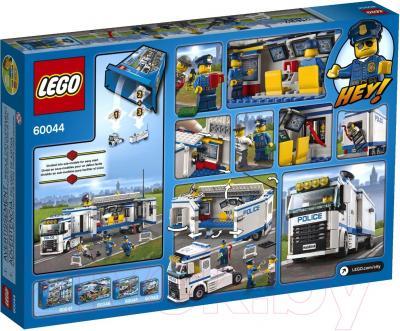 Конструктор Lego City Выездной отряд полиции (60044) - упаковка