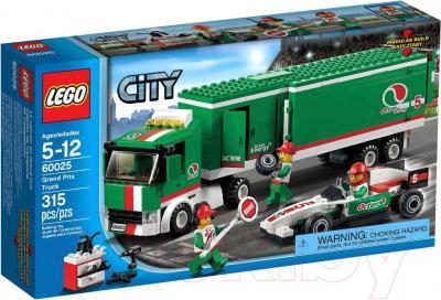 Конструктор Lego City Грузовик Гран При (60025) - упаковка