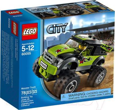 Конструктор Lego City Монстрогрузовик (60055) - упаковка
