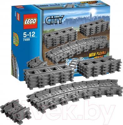 Конструктор Lego City Гибкие пути (7499) - упаковка