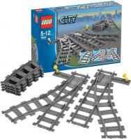 Конструктор Lego City Железнодорожные стрелки (7895) -