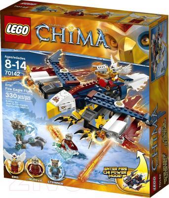 Конструктор Lego Chima Огненный истребитель Орлицы Эрис (70142) - упаковка