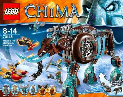 Конструктор Lego Chima Ледяной мамонт-штурмовик Маулы (70145) - упаковка