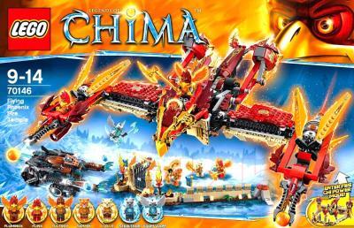 Конструктор Lego Chima Огненный летающий Храм Фениксов (70146) - упаковка