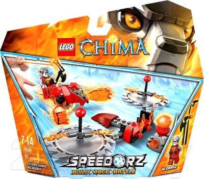 Конструктор Lego Chima Обжигающие лезвия (70149) - упаковка